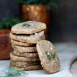  Savoury Dill Cheddar Buckwheat Sables